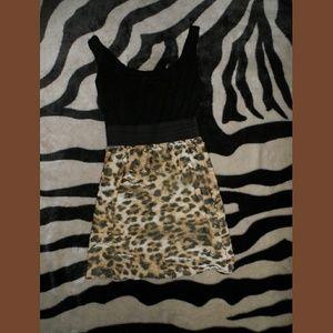 Love Culture Cheetah Print Dress Classy